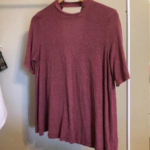 American Eagle Soft & Sexy Shirt - Open Back